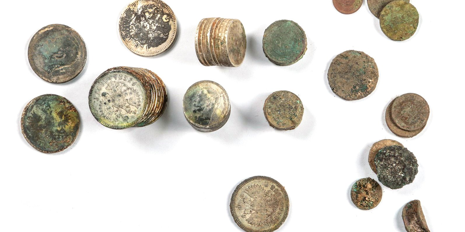 Клад монет XIX–XX вв. на Долгоруковской улице