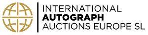 """Международный аукционный дом автографов """"International Autograph Auctions Europe S.L """" Малвга логотип"""