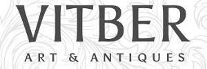 """Vitber Art & Antiques"" интернет-аукцион Рига логотип"