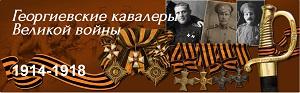 Георгиевские кавалеры Великой войны 1914 -1918 логотип