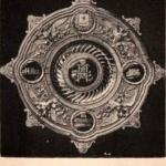Блюдо Фаберже, поднесенное от Астраханского Дворянства Их Императорским Величествам в Москве, в день Священного Коронования