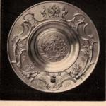 Блюдо Фаберже, поднесенное от Крестьянского населения Бирюченского уезда Их Императорским Величествам в Москве, в день Священного Коронования