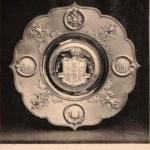 Блюдо Фаберже, поднесенное от Николаевского Биржевого Общества Их Императорским Величествам в Москве, в день Священного Коронования