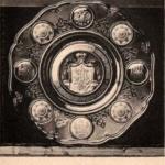 Блюдо Фаберже, поднесенное от Владикавказского Городского Общества Их Императорским Величествам в Москве, в день Священного Коронования