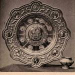 Блюдо и солонка Фаберже, поднесенные от Владимирского Дворянства Их Императорским Величествам в Москве, в день Священного Коронования