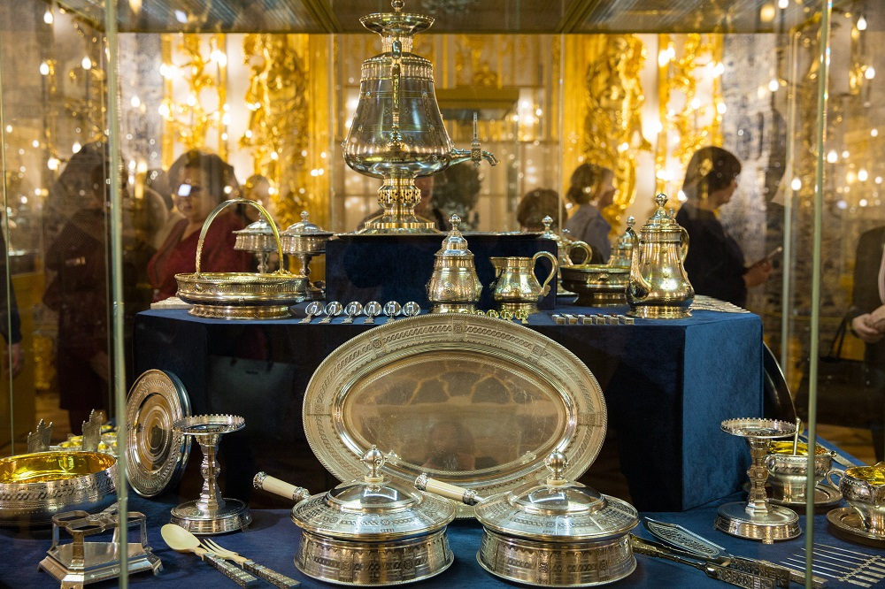 Выставка Клад Нарышкиных в Царском Селе