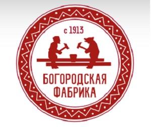 Богородская фабрика логотип
